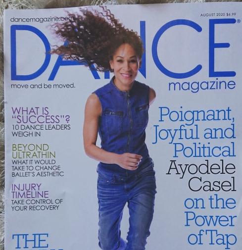 Ayodele Casel Magazine